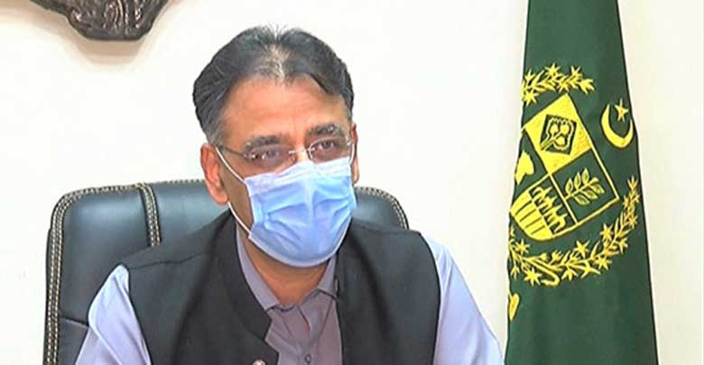 Asad Umar admire PM's decision to protect lives since start of Covid-19