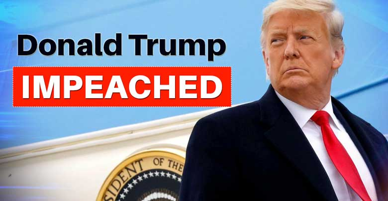 History made, US House impeaches Trump for second time