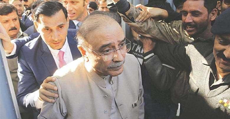 SC allows Zardari case transfer plea
